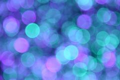 Lilac,turquoise,purple,cyan,aquamarine colored abstract background with bokeh royalty free stock images