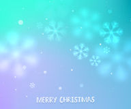 Lilac and turquoise winter horizontal background Stock Photos