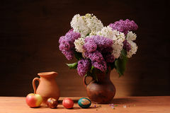 Lilac in vase Royalty Free Stock Photo