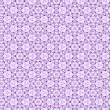 Lilac Wallpaper Pattern Stock Image