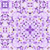 Lilac Watercolor Pattern Royalty Free Stock Image