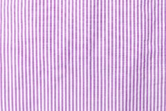 Lilac and white striped seamless fabric. Lilac and white striped seamless fabric Stock Images