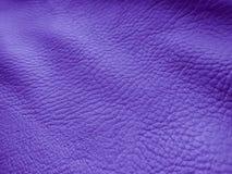 Lilaläderbakgrund - materielfoto Royaltyfri Bild