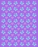 Lilas de flottement de couronne de papillon Images libres de droits