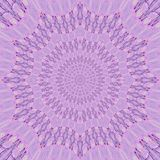 Lilas vibrant mandala. Light colors Royalty Free Stock Images