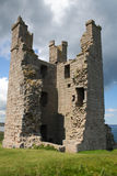 Lilburn Tower, Dunstanburgh Castle Royalty Free Stock Images