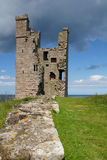 Lilburn Tower, Dunstanburgh Castle Royalty Free Stock Photos