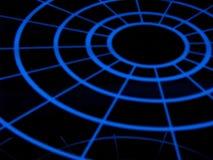Lilghts circulares ilustração do vetor