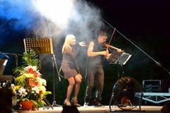 Lili Ivanova on concert Royalty Free Stock Photos