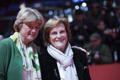 Liliana Cavani, Monika Gruetters atende à homenagem foto de stock