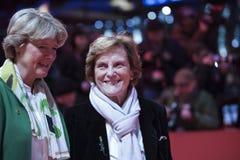 Liliana Cavani, Monika Gruetters attend the Homage Charlotte Rampling royalty free stock photos