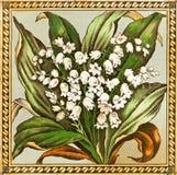 Lilie der Tal-Fliese Lizenzfreie Stockbilder