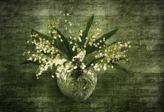 Lilie des Talblumenstraußes Stockfotografie