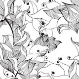 Lilie pattern Stock Image