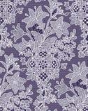 lilien Nahtloses Muster spitze stock abbildung