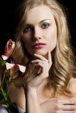 Lilienart und weise portarit, Stockfotos