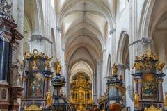 Lilienfeld abbotskloster, Österrike Fotografering för Bildbyråer