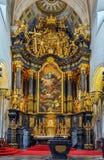 Lilienfeld abbotskloster, Österrike Arkivbild
