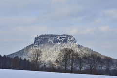 Lilienstein Royalty Free Stock Photo