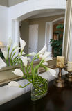 Lilies in Home Interior Stock Photography