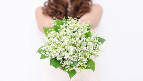 Free Lilies Of The Valley Bouquet Stock Photography - 40728202