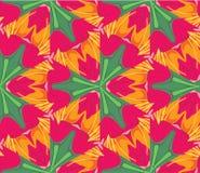 Lilies_seamless5 Vektor Abbildung