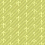 Lilies and Stripse Pattern Stock Photos
