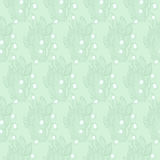 Lilies of the valley flower. Wallpaper textile pattern. Royalty Free Stock Photo