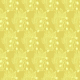 Lilies of the valley flower. Wallpaper textile seamless pattern. Stock Photography