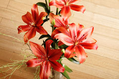 Lilium Flower. A Bouquet of blooming Lilium Flowers Stock Photography