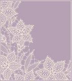 lilja lace Kort Royaltyfri Foto