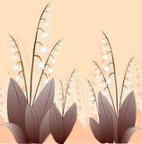 liljadal stock illustrationer