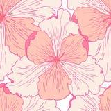 Liljamodellbakgrund Arkivbilder