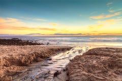 Lilla Corona Beach i Corona Del Mar Royaltyfri Fotografi