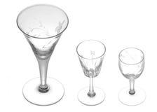 lilla dricka exponeringsglas Fotografering för Bildbyråer