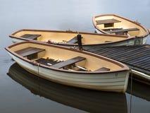 lilla fartyg Arkivfoto