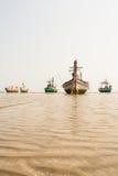 Lilla fiskebåtar Royaltyfri Bild