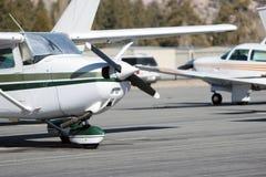 lilla flygplan Arkivfoton
