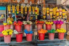 Lilla Indien i George Town Malaysia arkivfoto