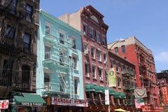 Lilla Italien - New York City Royaltyfri Foto