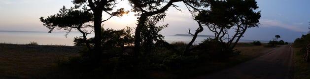 Lilla karlsön海岛在波罗的海 库存照片