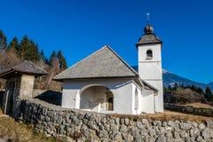 lilla kyrkliga berg Royaltyfria Foton
