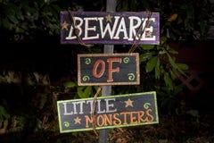 lilla monster Arkivbild
