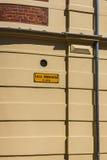 Lilla Norregatan street name plate Stock Image