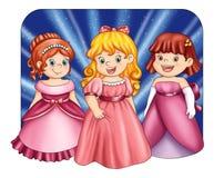 lilla princesses Arkivfoton