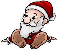 Lilla Santa Claus Arkivbild