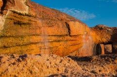 lilla vattenfall royaltyfria bilder