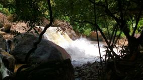 lilla vattenfall Royaltyfri Foto