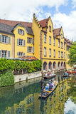Lilla Venedig i Colmar, Frankrike Royaltyfria Bilder