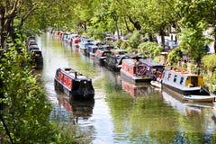 Lilla Venedig, London Royaltyfri Bild